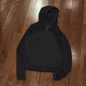 The North Face zip up hoodie w/ thumb holes!